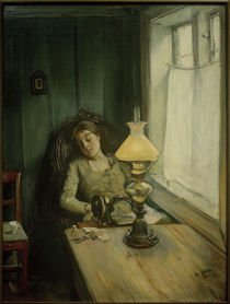 Tired / C. Krohg / Painting, 1885 by AKG  Images