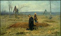 N.A.Kassatkin, Verwaist / Gemälde, 1891 von AKG  Images