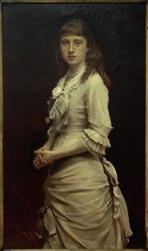 I.N.Kramskoi, Porträt Sofja Kramskaja, Tochter des Malers by AKG  Images