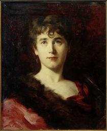 Gertrude Angela Kingston / Gemälde von Ottilie Roederstein by AKG  Images