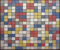 Mondrian / Komposition mit Gitter 9; 1919 by AKG  Images