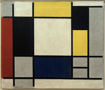 Mondrian / Composition with yellow.../1920 by AKG  Images