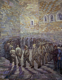 van Gogh / The Round of the Prisoners by AKG  Images