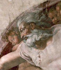 Michelangelo, God the Father by AKG  Images