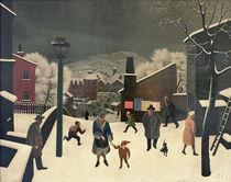 F.Sedlacek, Winter in der Stadt von AKG  Images