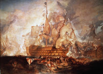 Battle of Trafalgar / Turner by AKG  Images