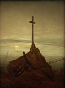 C.D.Friedrich / Cross beside the Baltic by AKG  Images