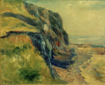 A.Renoir, Küste nahe Dieppe von AKG  Images