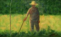 G.Seurat, Der Gärtner by AKG  Images
