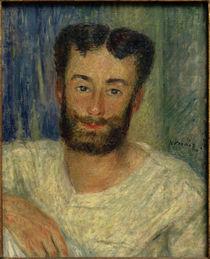A.Renoir,  Bildnis eines bärtigen jungen Mannes mit ausgeschnittener Weste (Der Ruderer von Bougival) by AKG  Images
