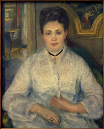 Madame Victor Chocquet / Gem.v. A.Renoir by AKG  Images