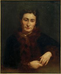 A.Renoir, Die Dame im Pelz von AKG  Images