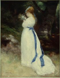 A.Renoir, Lise mit einem Feldblumenstrauß by AKG  Images
