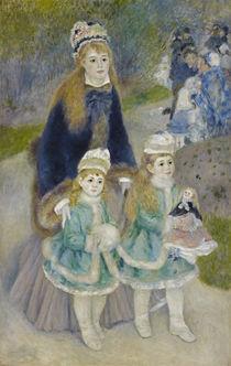 A.Renoir, Der Spaziergang (Mutter mit Kindern) von AKG  Images