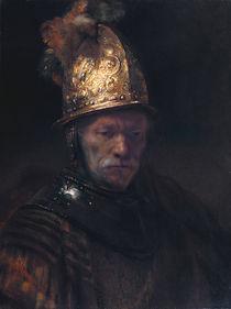 Rembrandt / Mann mit dem Goldhelm/um 1650 von AKG  Images