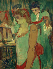 Toulouse-Lautrec, Die tätowierte Frau von AKG  Images