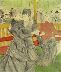 Toulouse-Lautrec, Tanz im Moulin-Rouge by AKG  Images