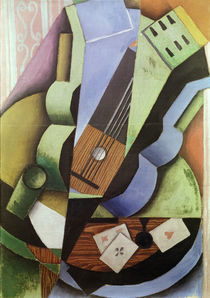 The Three Cards / J. Gris / Painting 1913 by AKG  Images