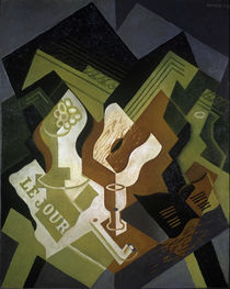 Guitar and Fruit Bowl / J. Gris / Painting 1919 by AKG  Images