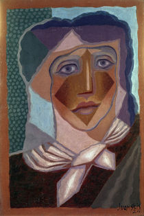 Juan Gris, Woman with Neck Scarf, 1924 by AKG  Images