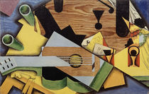 Juan Gris, Stillleben mit Gitarre, 1913 von AKG  Images