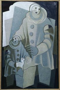 J.Gris, Les deux Pierrots, 1922 von AKG  Images
