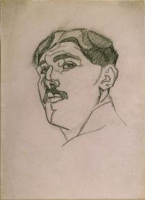 Juan Gris, Selbstbildnis / Zeichng.,1911 von AKG  Images