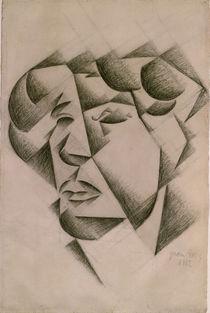 Juan Gris, Selbstbildnis / Zeichng.,1912 von AKG  Images