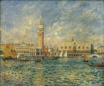 View of Venice / P.-A. Renoir / Painting 1881 by AKG  Images