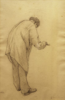 Caillebotte / Painter at Work / Sketch by AKG  Images