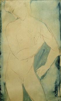 A.Modigliani, Nackter Knabe von AKG  Images