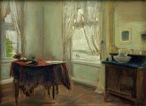 M.Liebermann, das Zimmer des Künstlers von AKG  Images