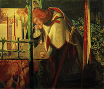 Sir Galahad at the Ruined Chapel / Rossetti by AKG  Images