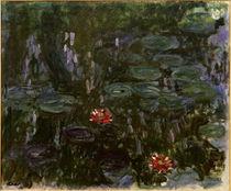 C.Monet, Seerosen, Spiegelung von AKG  Images