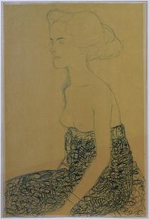 G.Klimt, Sitzender Halbakt nach links von AKG  Images