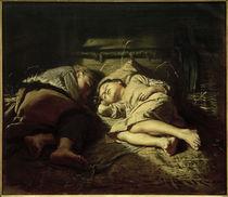W.G.Perow, Schlafende Kinder von AKG  Images