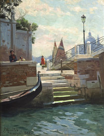 Peder Mørk Mønsted, Summer's Day in Venice by AKG  Images