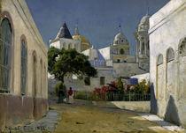 Cádiz, Kathedrale / Gemälde von P. Mönsted, von AKG  Images