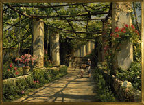 P. Mönsted, Pergola in Ravello von AKG  Images