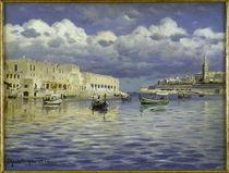 Peder Mørk Mønsted, Malta Harbour by AKG  Images