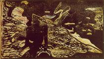 Gauguin / Auti Te Pape / Woodcut / 1893 by AKG  Images