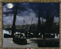 Edouard Manet, Moonlight, Boulogne by AKG  Images