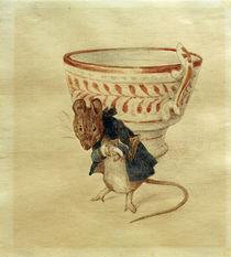 Beatrix Potter, Mr Mouse bows by AKG  Images