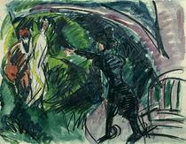 E.L.Kirchner, Pantomime Reimann I von AKG  Images