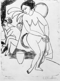 E.L.Kirchner, Nackte Mädchen im Atelier von AKG  Images