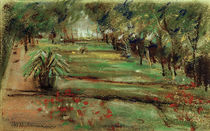 "M.Liebermann, ""Garden at lake Wannsee"" / painting by AKG  Images"