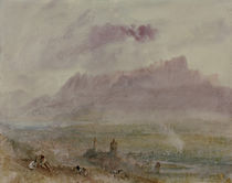 Thun, Stadt und See / Aquarell v. Turner by AKG  Images