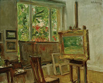 """M.Liebermann, """"The studio in Wannsee"""" / painting by AKG  Images"""