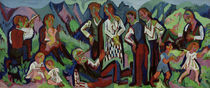E.L.Kirchner / Mountain Farmers on Sunday by AKG  Images