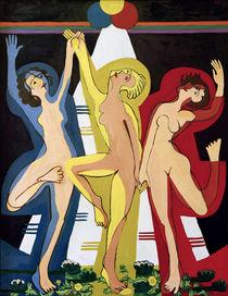 E.L.Kirchner, Farbentanz II von AKG  Images